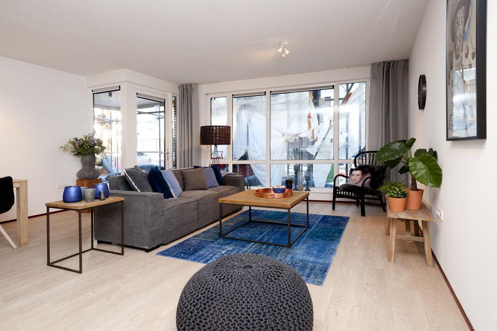 Modelwoningen Tilburg woonkamer Huismetstijl