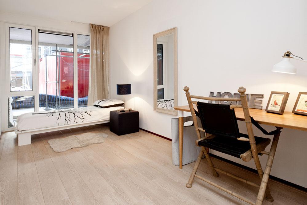 Slaapkamer Tilburg modelwoningen Huismetstijl